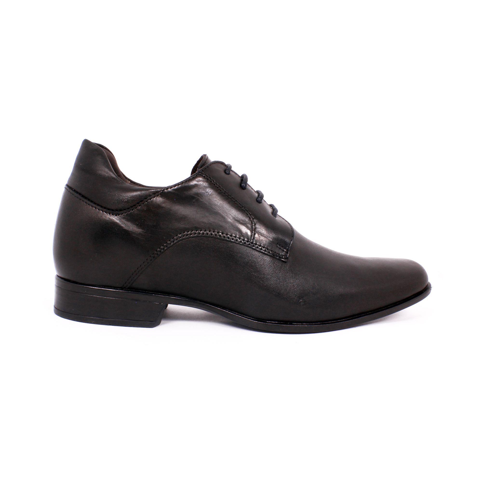Zapato Formal Fashion Negro Max Denegri +7cm de Altura_70819