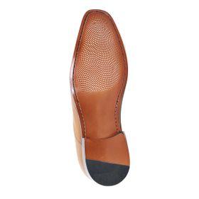 Zapato Formal Elegant Café Claro Max Denegri +7cm de Altura_72720