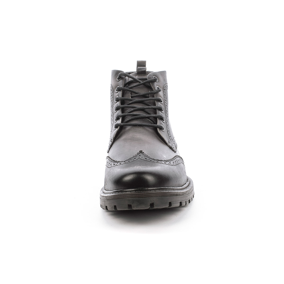 Botín Casual Soho Negro Max Denegri + 7cms de Altura_76491