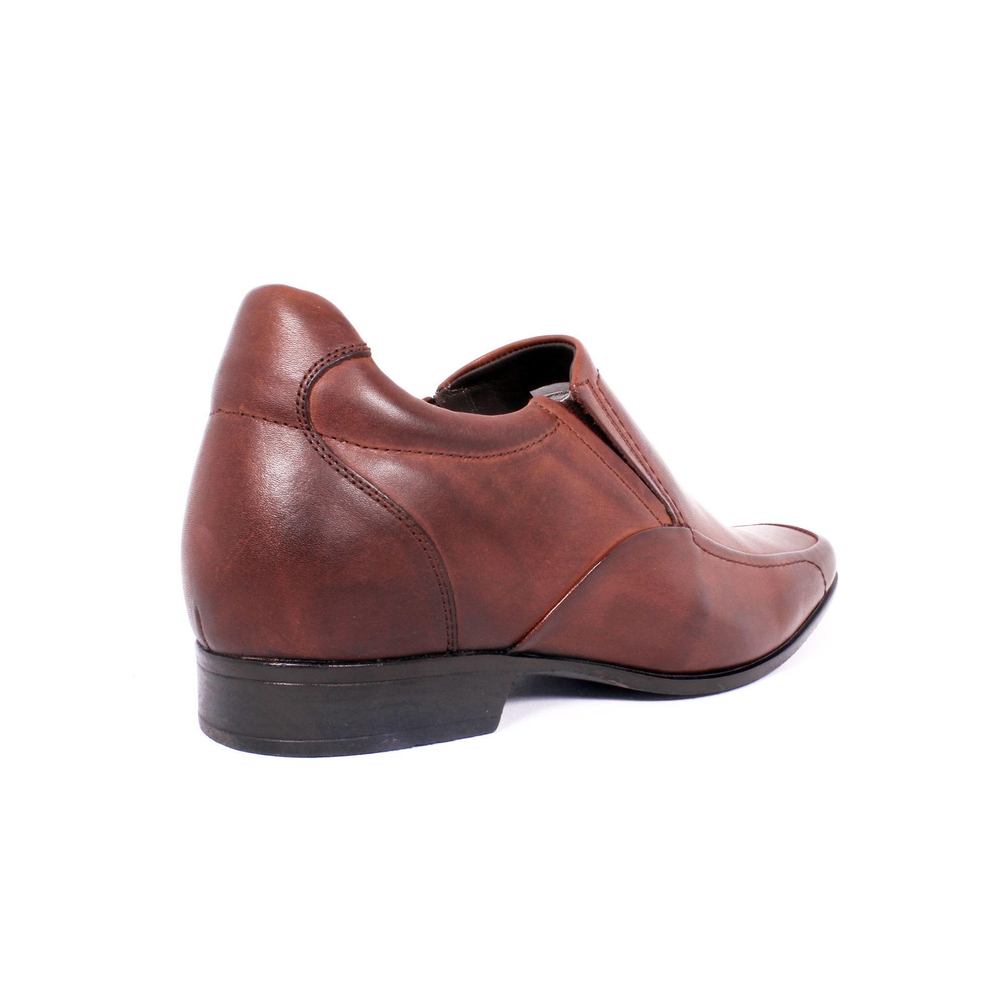 Zapato Formal Tabaco Café Max Denegri +7cm de Altura_70847