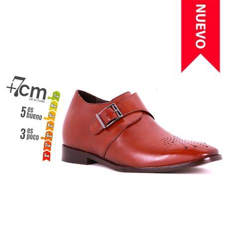 Zapato Formal Gentleman Café Oscuro Max Denegri +7cms de Altura