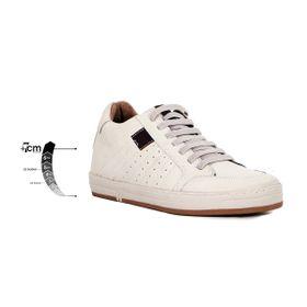 Tenis Derby Blanco Max Denegri +7cms De Altura_75275