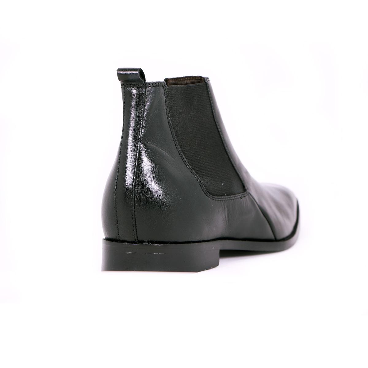 Botín Formal Lord Negro Max Denegri +7cms de Altura_73425