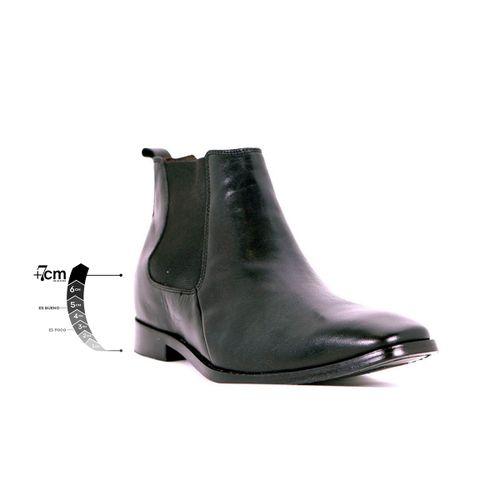 Botín Formal Lord Negro Max Denegri +7cms de Altura