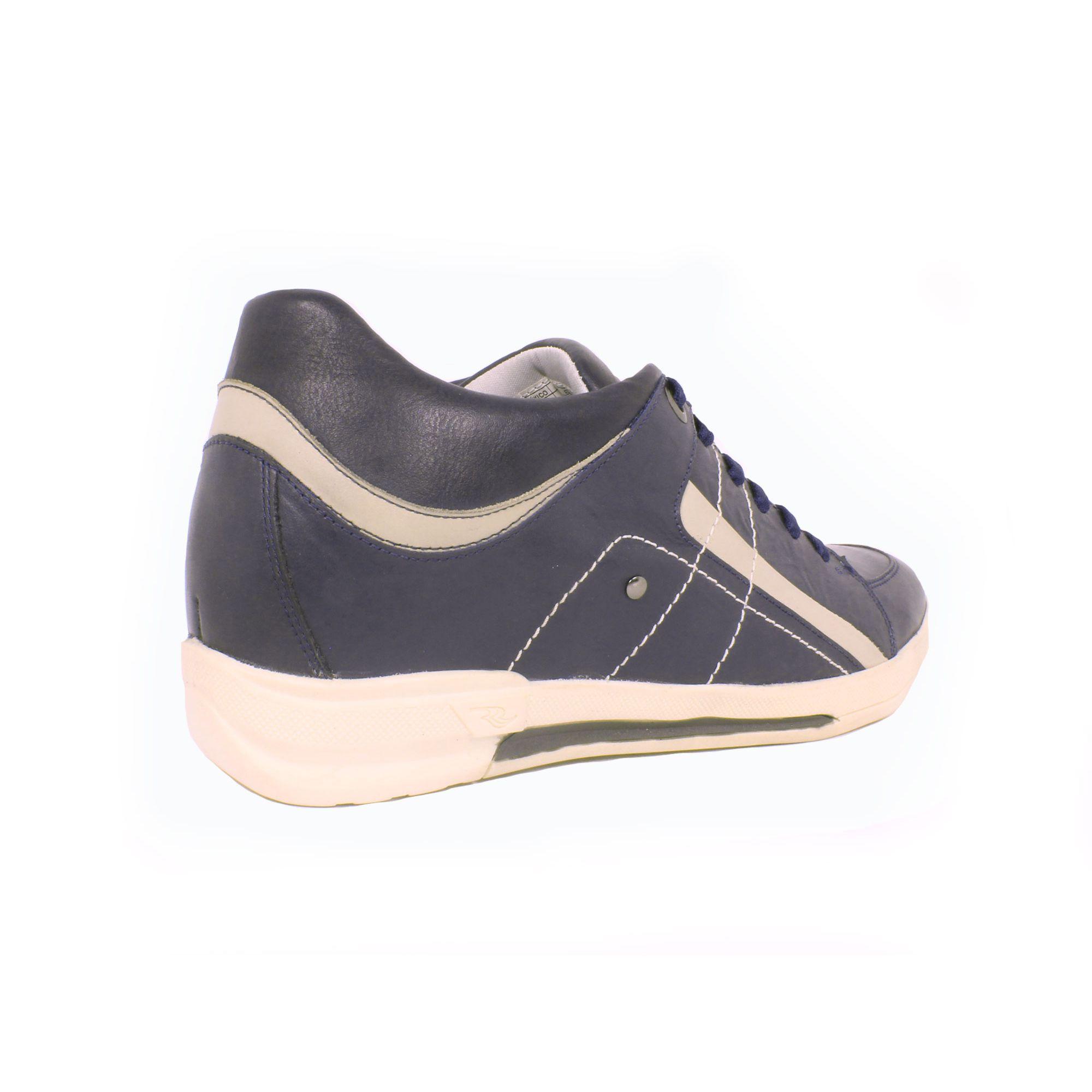 Zapato Casual Street Azul Max Denegri +7cm de Altura_70933