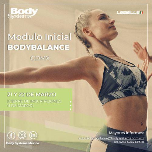 Módulo Inicial BodyBalance 2020 en Ciudad de México 21 y 22 marzo