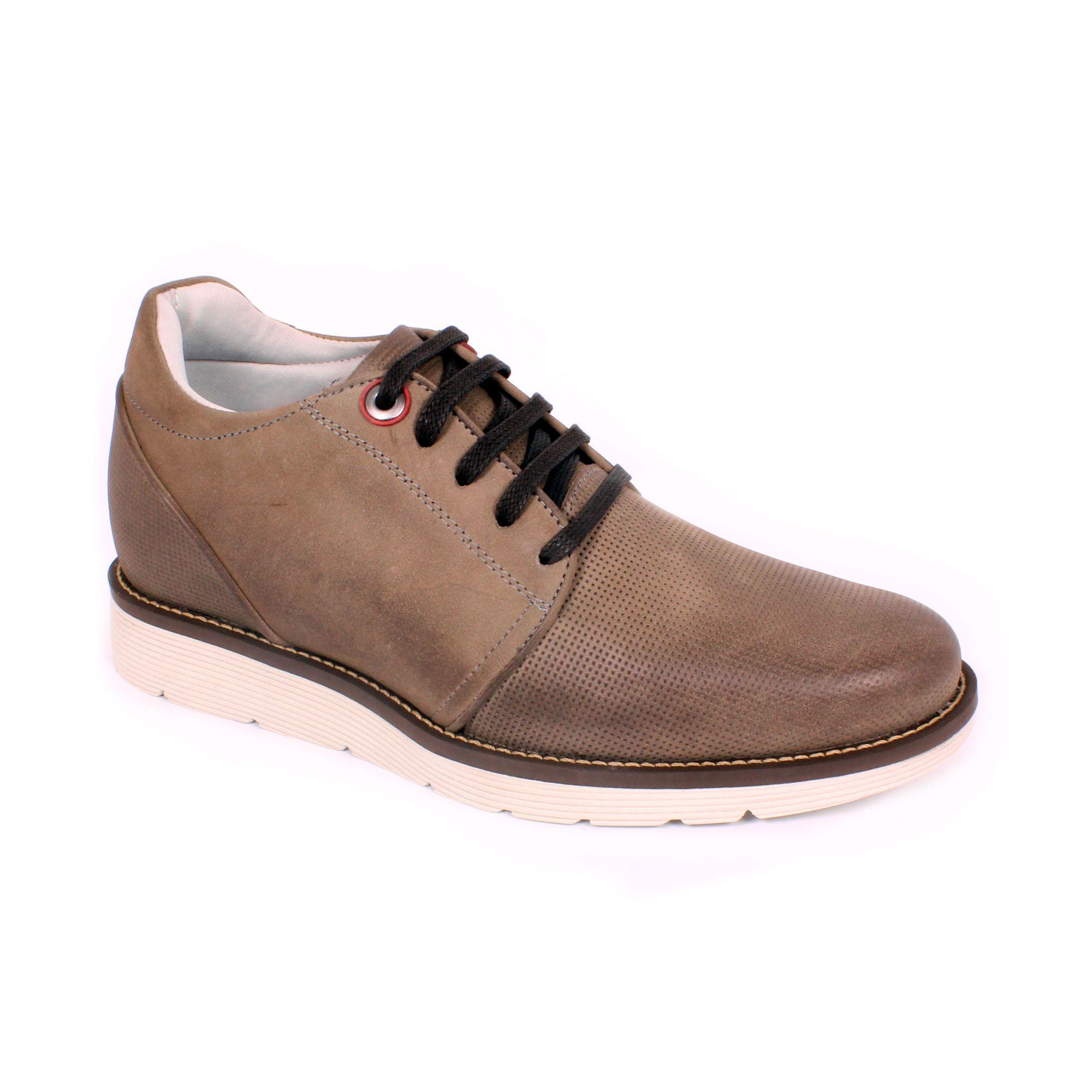 Zapato Casual Avenue Gris Max Denegri +7cms de Altura_70860