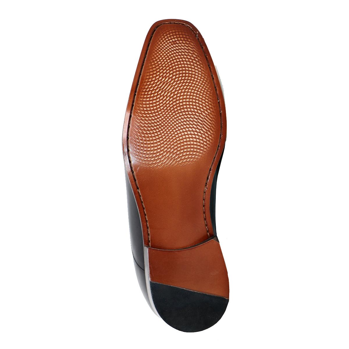 Zapato Formal Director Negro Max Denegri +7cms De Altura_72714