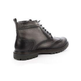 Botín Casual Soho Negro Max Denegri + 7cms de Altura_76488