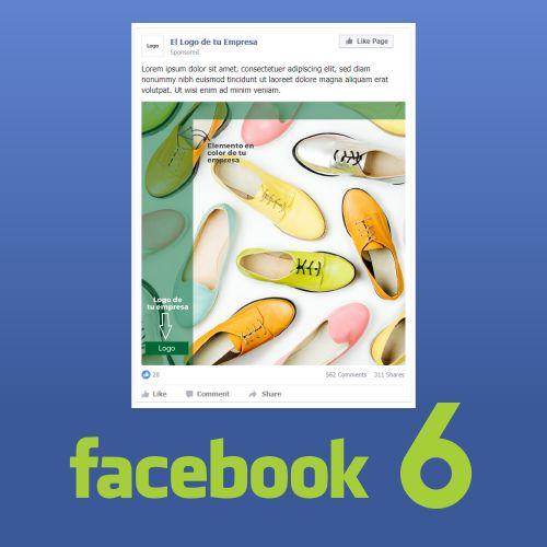 6 Piezas de Contenidos para Facebook