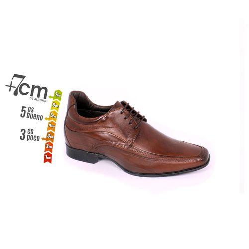 Zapato Formal Manager Café Max Denegri +7cm de Altura