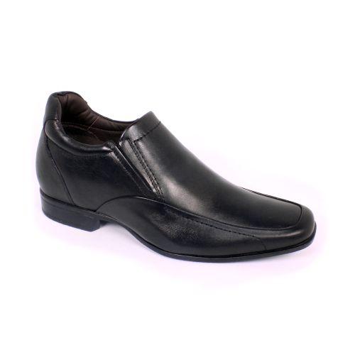 Zapato Formal Tabaco Negro Max Denegri +7cm de Altura