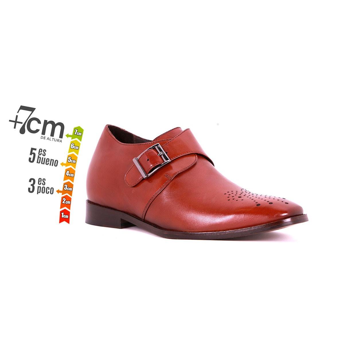 Zapato Formal Gentleman Café Oscuro Max Denegri +7cms de Altura_74260