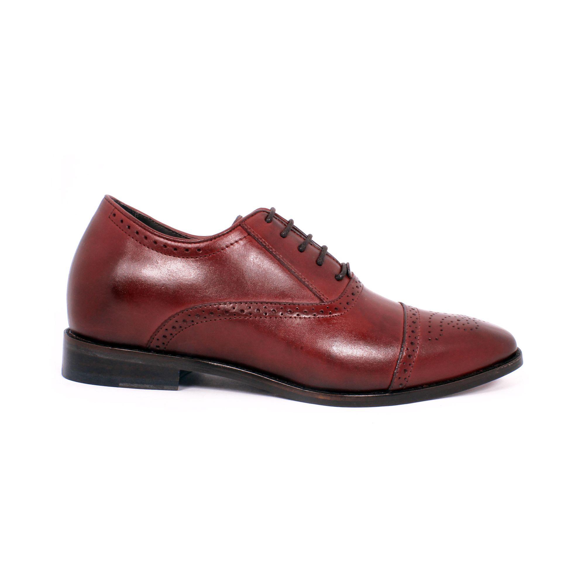 Zapato Formal British Vino Max Denegri +7cms de Altura_70788