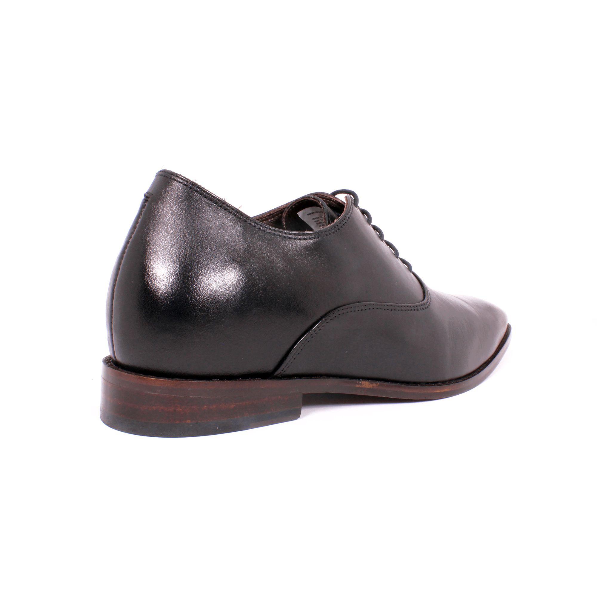 Zapato Formal Elegant Negro Max Denegri +7cm de Altura_70799