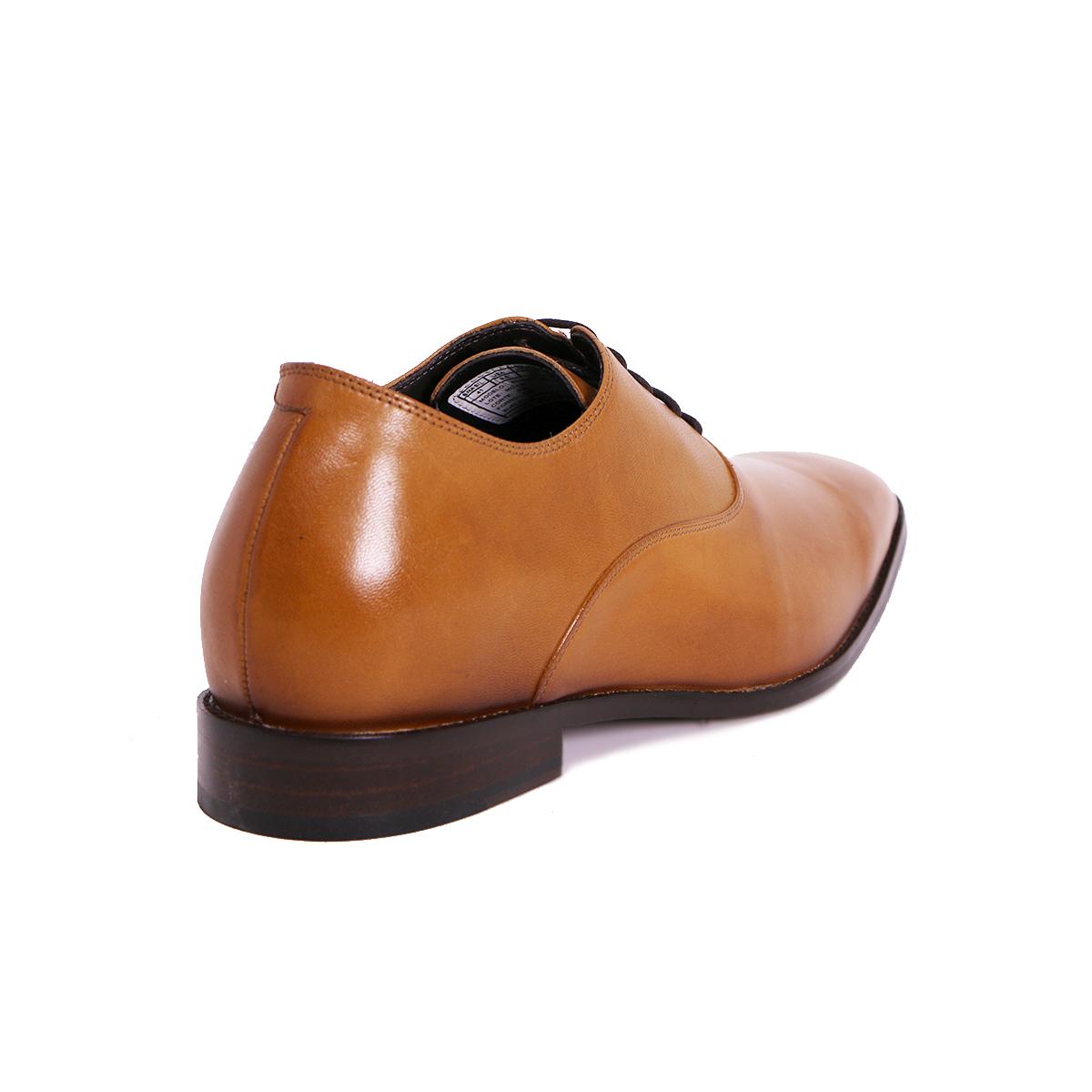 Zapato Formal Elegant Café Claro Max Denegri +7cm de Altura_72719