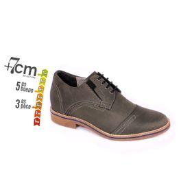 Zapato Casual Trend Gris Petroleo Max Denegri +7cm de Altura_74115