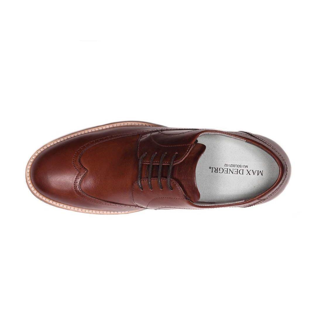 Zapato Casual Oxford Café Oscuro Max Denegri +7cm de Altura_71060