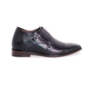 Zapato Formal Lawyers Negro Max Denegri +7cms De Altura_72741