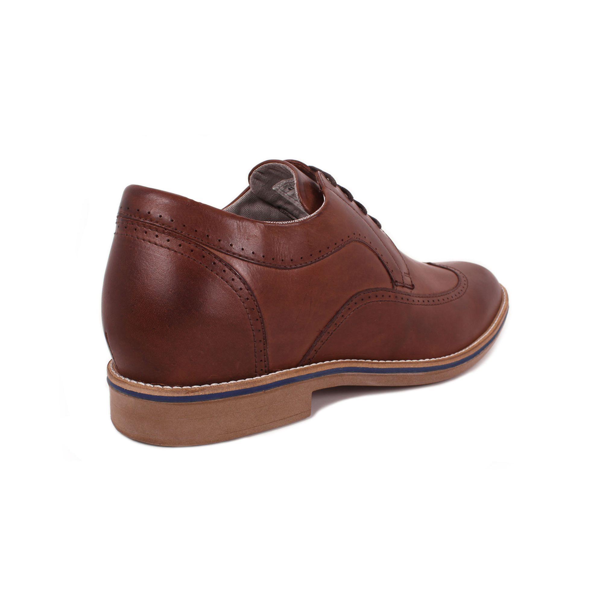 Zapato Casual Oxford Café Oscuro Max Denegri +7cm de Altura_71058
