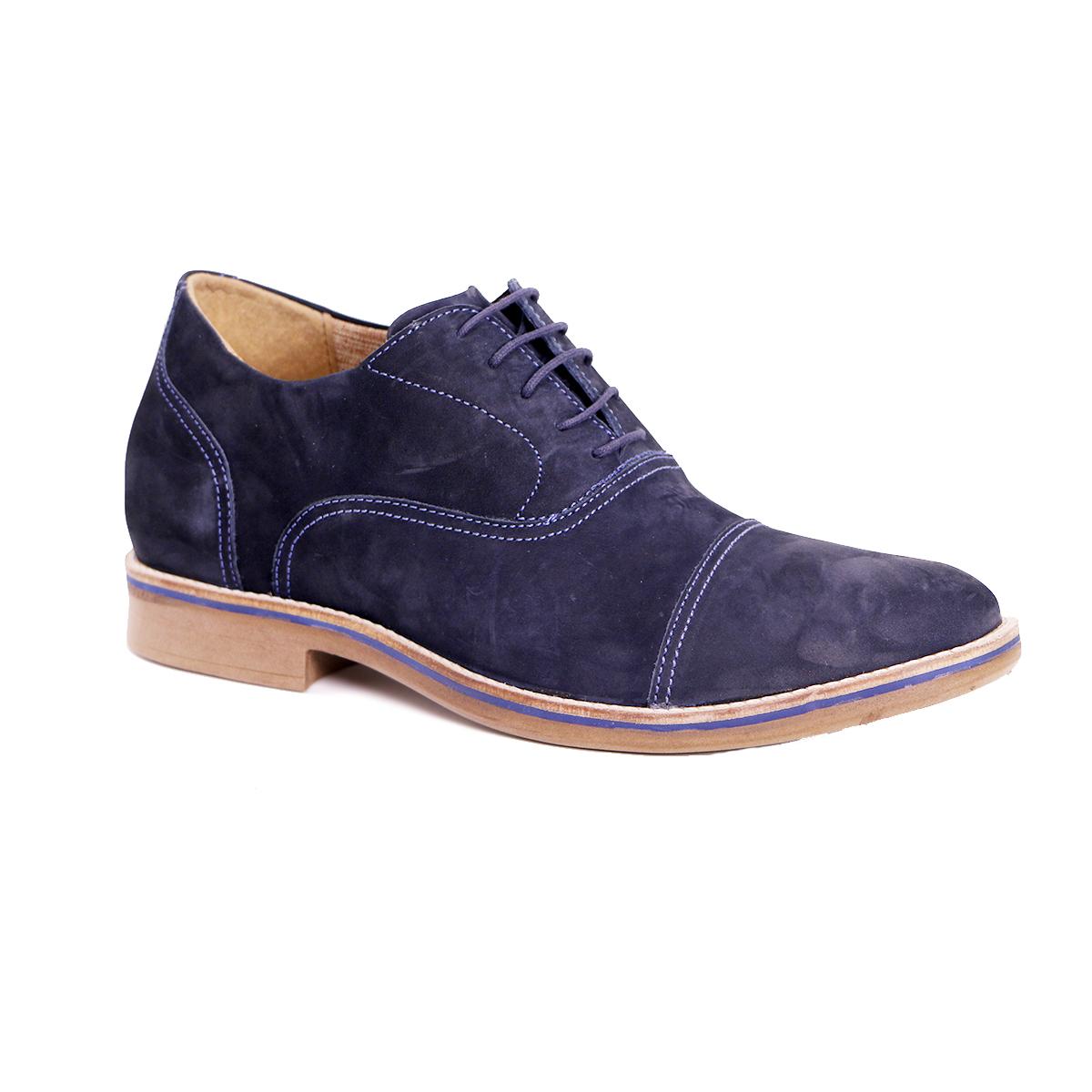 Zapato Casual Hippie Azul Max Denegri +7cms de Altura_72912