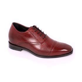 Zapato Formal British Vino Max Denegri +7cms de Altura_70787