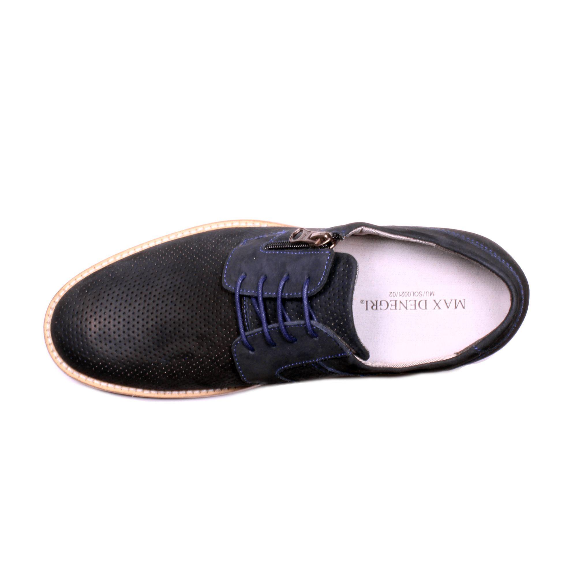 Zapato Casual Break Azul Max Denegri +7cm de Altura_70944