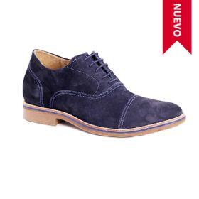 Zapato Casual Hippie Azul Max Denegri +7cms de Altura_72691