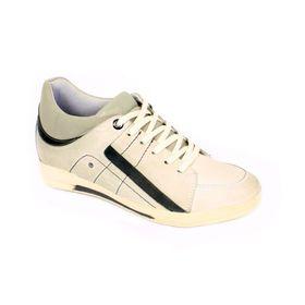 Tenis Street Gris Claro Max Denegri + 7 cm de Altura