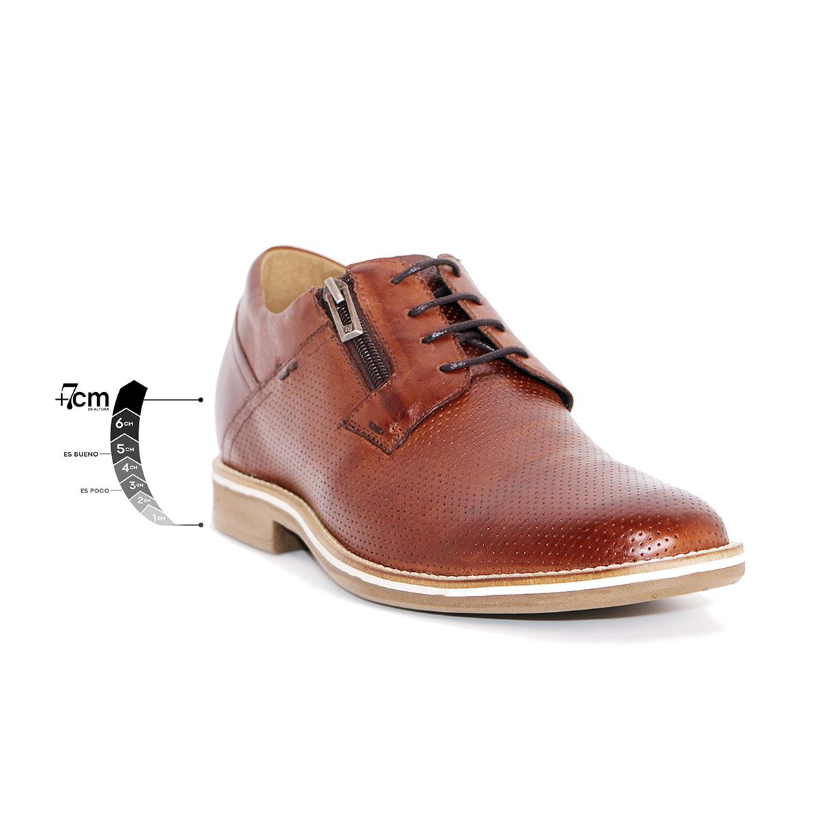 Zapato Casual Break Café Max Denegri +7cms De Altura_75289