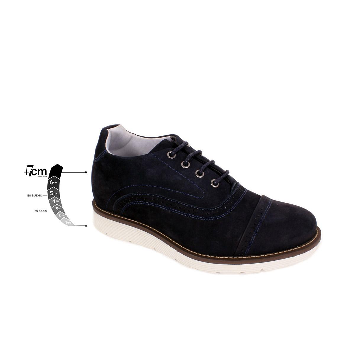 Zapato Casual Casino Azul Max Denegri +7cms de Altura_75290