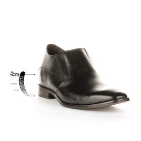 Zapato Formal Style Negro Max Denegri + 7cms de Altura _75829