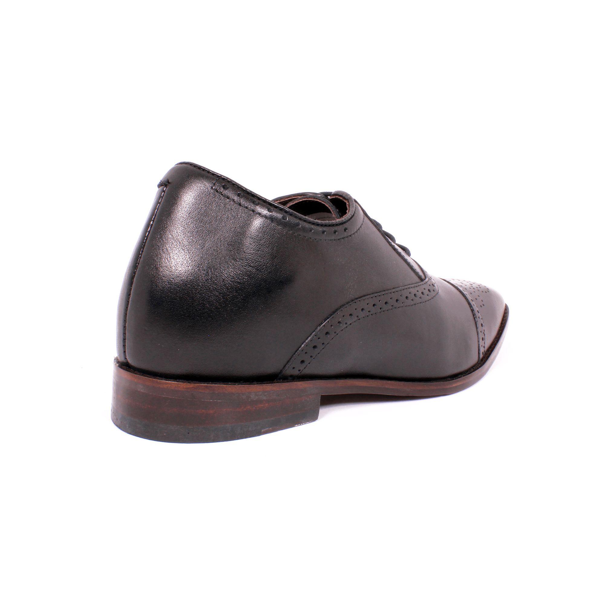 Zapato Formal British Negro Max Denegri +7cms de Altura_70781