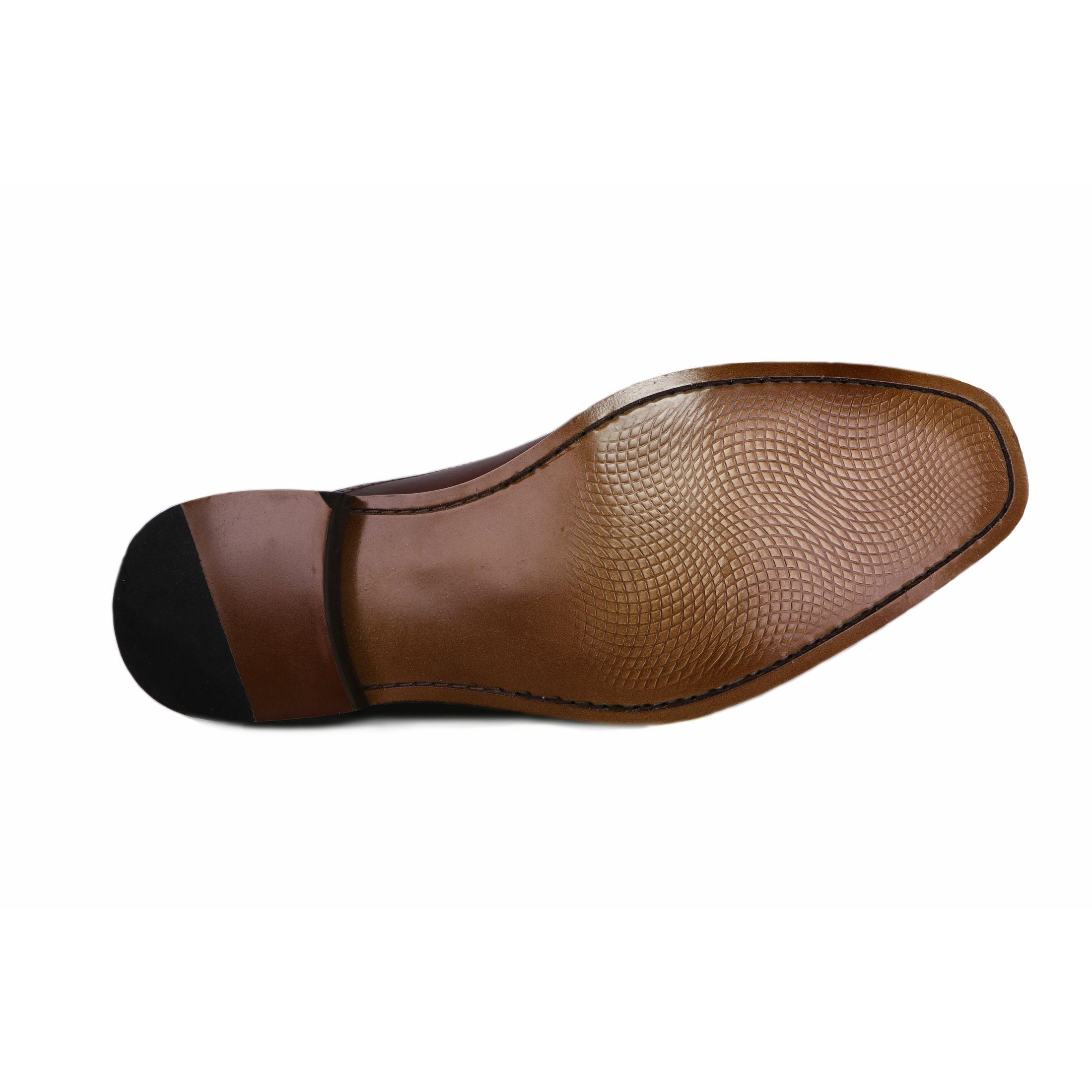 Zapato Formal Elegant Café Max Denegri +7cm de Altura_70802