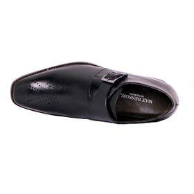 Zapato Formal Gentleman Negro Max Denegri +7cms De Altura_72812