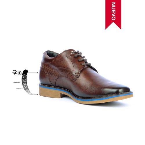 Zapato Casual Citizen café Max Denegri + 7cms de Altura