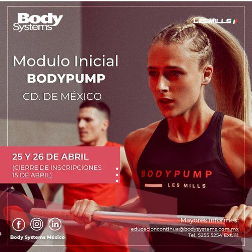 Módulo Inicial BodyPump 2020 en Ciudad de México 25 y 26 abril