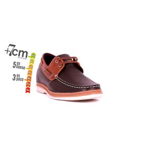 Zapato Casual Walk Café/Café Max Denegri +7cms de Altura_74255