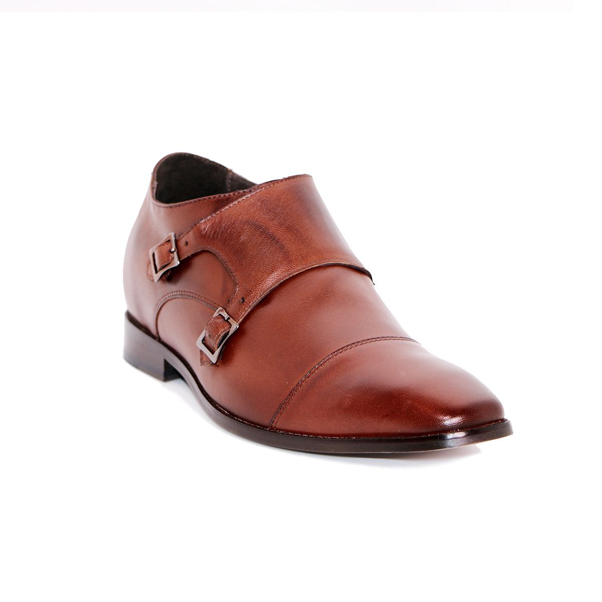 Zapato Formal Lawyers Café Oscuro Max Denegri +7cm de Altura_72734
