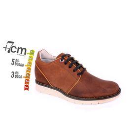 Zapato Casual Avenue Café Max Denegri +7cm de Altura