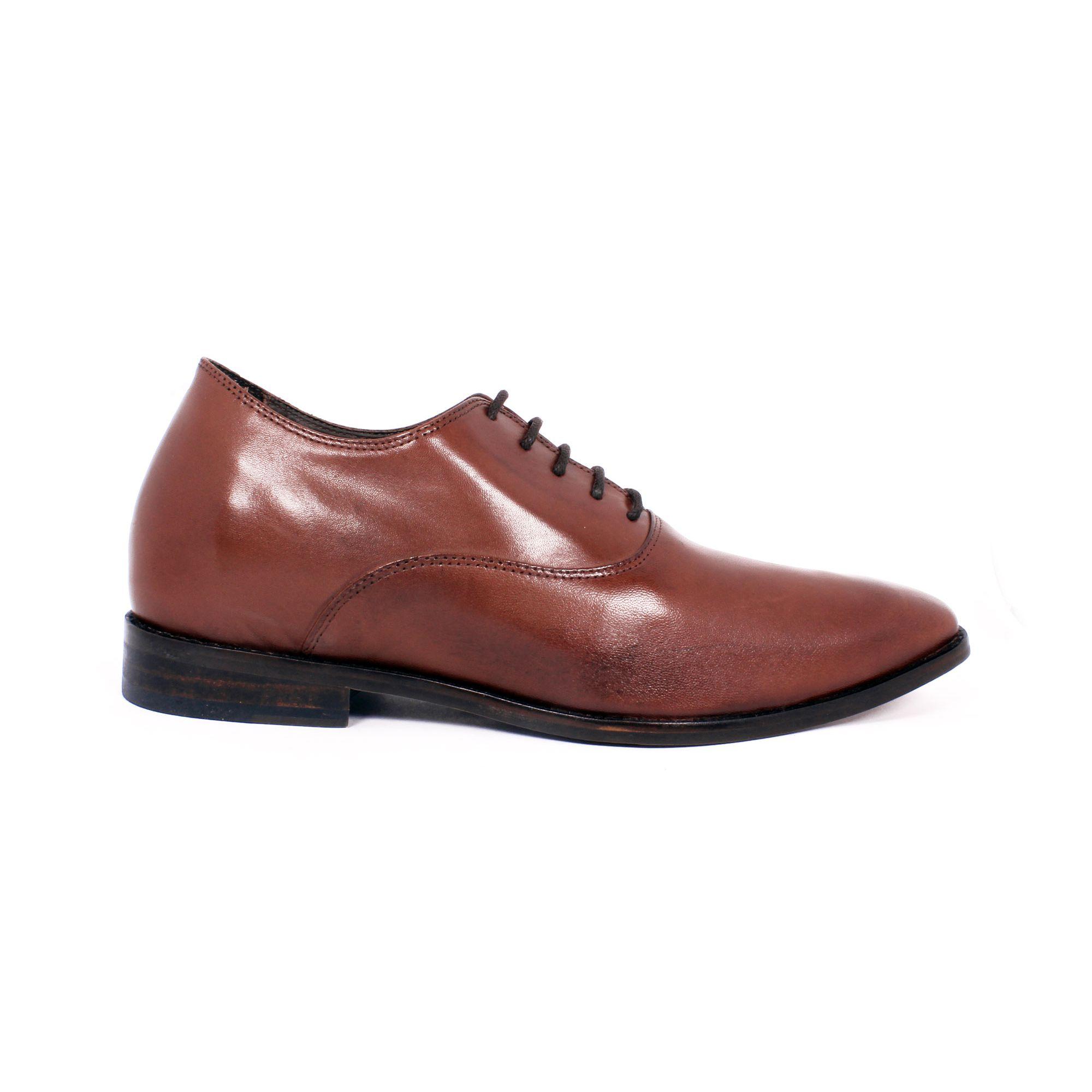 Zapato Formal Elegant Café Max Denegri +7cms de Altura_70805