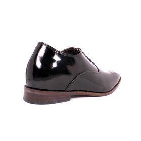 Zapato Formal Elegant Charol Negro Max Denegri +7cm de Altura_70807