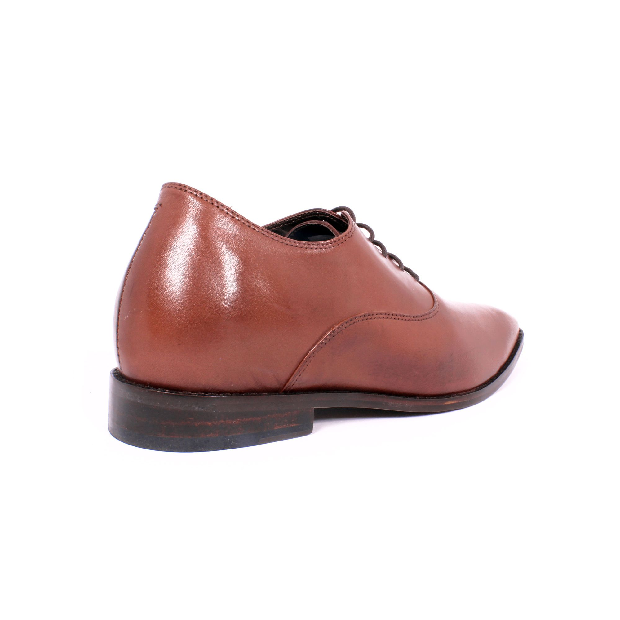 Zapato Formal Elegant Café Max Denegri +7cms de Altura_70804