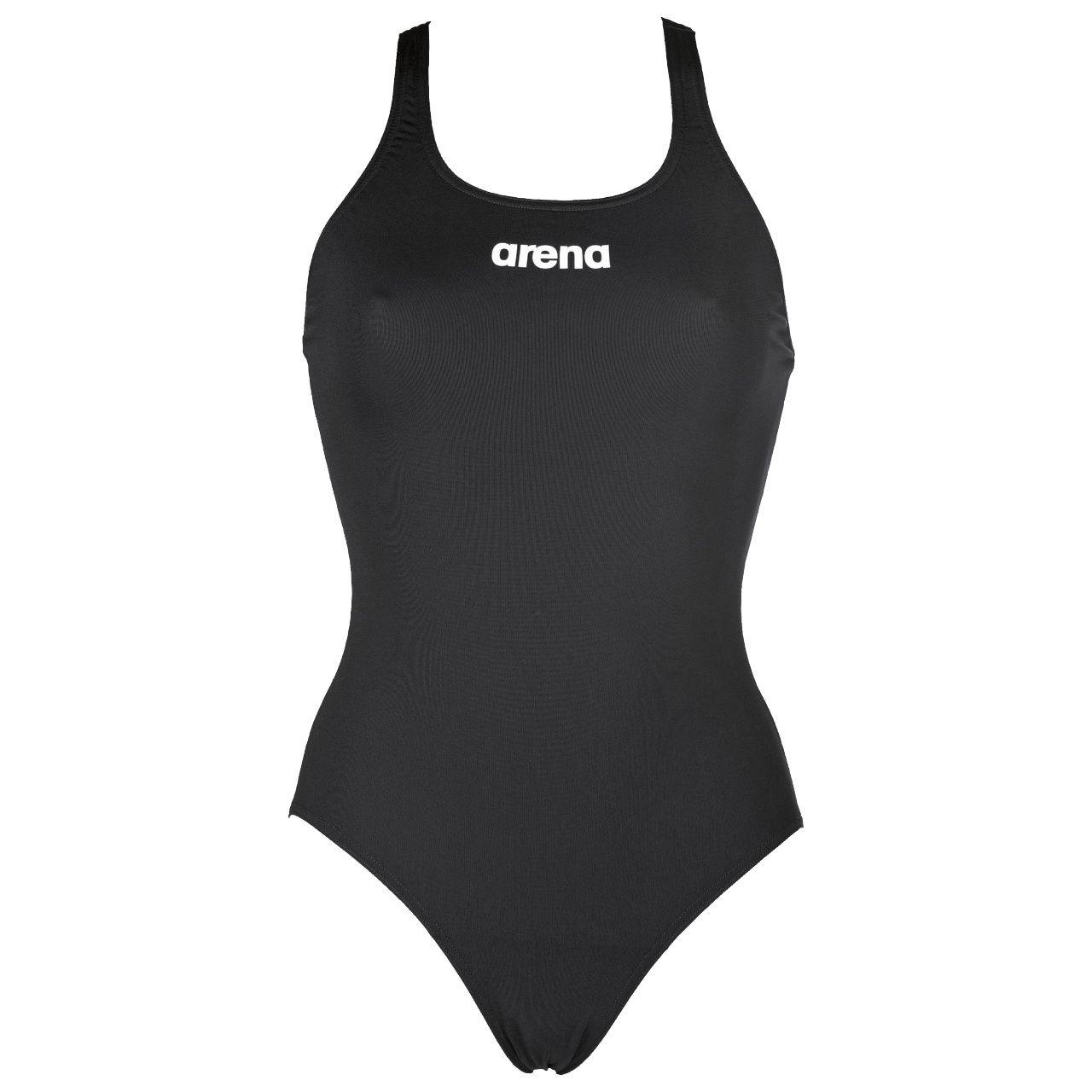 Traje de Baño Deportivo arena para Niña Solid Swim Pro con Forro_6027