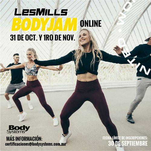 Módulo Inicial BodyJam 2020 el 31 octubre y 1 noviembre (ON LINE)