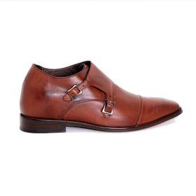 Zapato Formal Lawyers Café Oscuro Max Denegri +7cm de Altura_72735