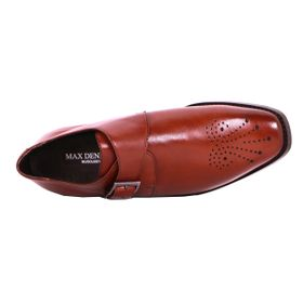 Zapato Formal Gentleman Café Oscuro Max Denegri +7cms de Altura_73380