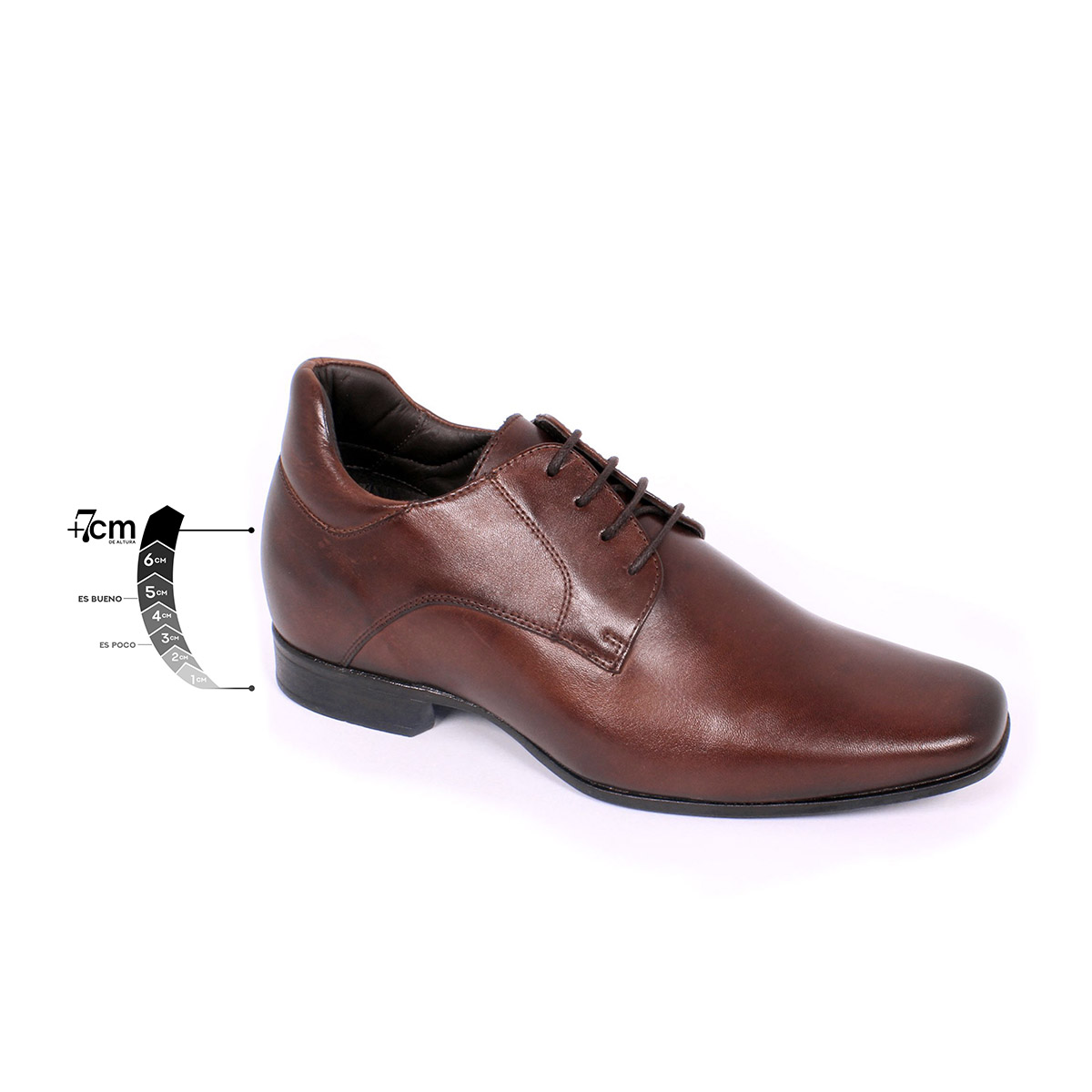 Zapato Formal Fashion Café Max Denegri +7cms de Altura_75312