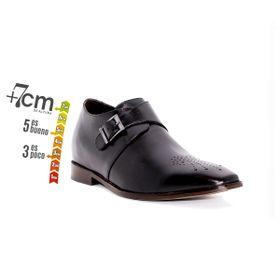 Zapato Formal Gentleman Negro Max Denegri +7cms de Altura_74135