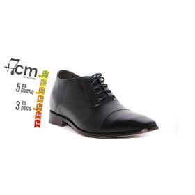 Zapato Formal Director Negro Max Denegri +7cms de Altura_74148